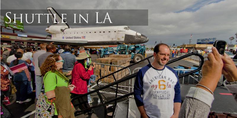 Shuttle Endeavour LA